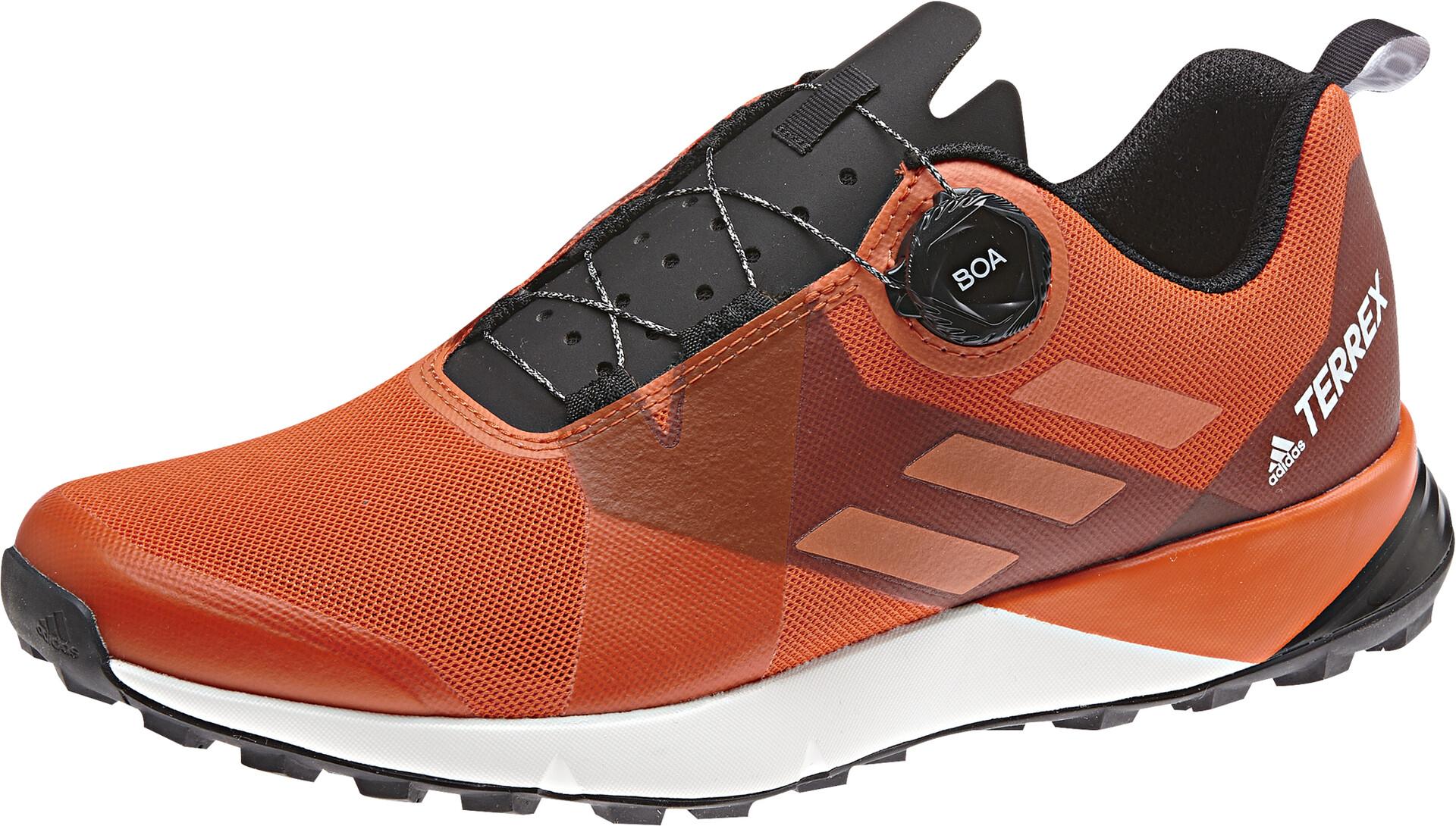 adidas TERREX Two Boa Chaussures Homme, active orangetruoracore black